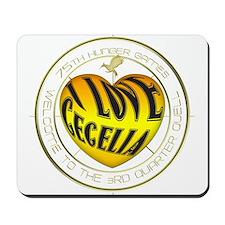 I Love Cecelia Heart Mousepad