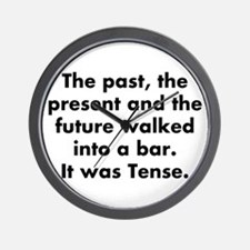 The past, the present and the future wa Wall Clock