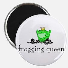 Yarn - Frogging Queen Magnet