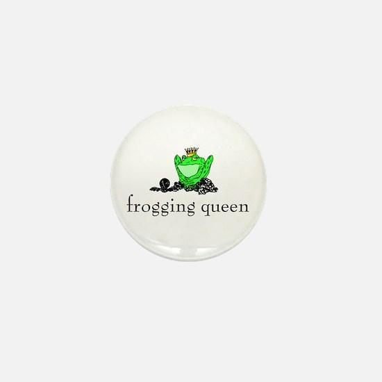 Yarn - Frogging Queen Mini Button