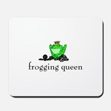Yarn - Frogging Queen Mousepad