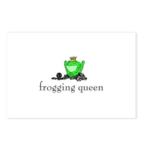 Yarn - Frogging Queen Postcards (Package of 8)