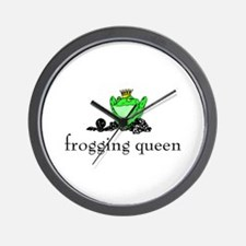 Yarn - Frogging Queen Wall Clock