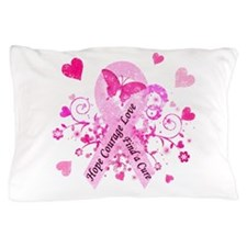 Pink Ribbon with Love Pillow Case