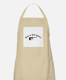 Rock and Roll Knitter BBQ Apron