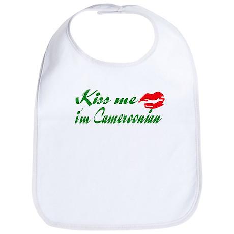 Kiss me i'm Cameroonian Bib