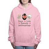 Forensic anthropology Hooded Sweatshirt