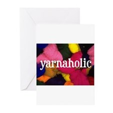 Yarnaholic Greeting Cards (Pk of 10)