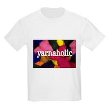 Yarnaholic Kids T-Shirt
