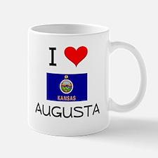 I Love AUGUSTA Kansas Mugs