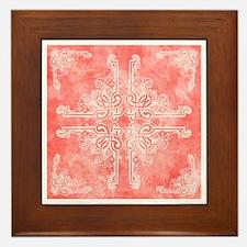 SALMON Framed Tile