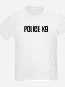 POLICE K9 LOGO Kids T-Shirt