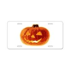 Halloween01LN Aluminum License Plate