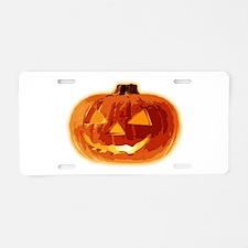 Halloween01LN Aluminum License Plate