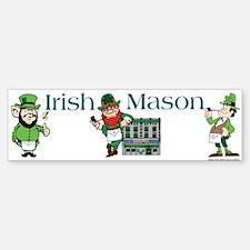 Masonic Irish Masons Bumper Bumper Bumper Sticker