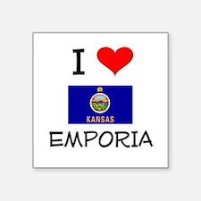 I Love EMPORIA Kansas Sticker