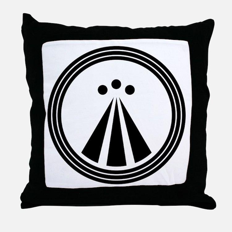 Cute Druid Throw Pillow