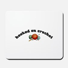 Hooked on Crochet Mousepad