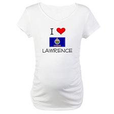 I Love LAWRENCE Kansas Shirt