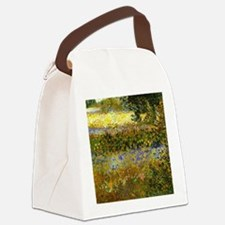 Van Gogh: Flowering Garden Canvas Lunch Bag