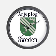 The Arjeplog Store Wall Clock