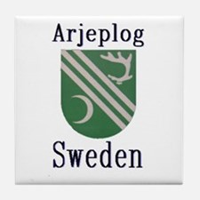 The Arjeplog Store Tile Coaster