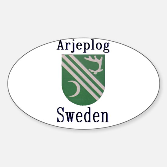The Arjeplog Store Oval Decal