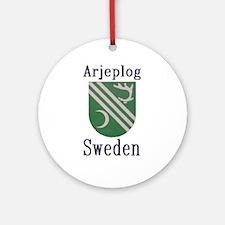 The Arjeplog Store Ornament (Round)