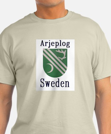 The Arjeplog Store Ash Grey T-Shirt