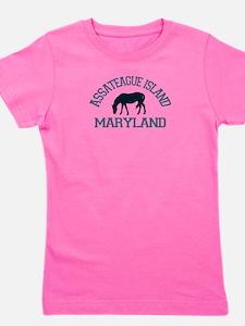 Assateague Island MD - Ponies Design. T-Shirt