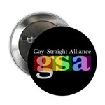 "GSA Classic Black 2.25"" Button (100 pack)"