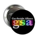 "GSA Classic Black 2.25"" Button (10 pack)"