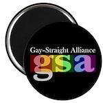 "GSA Classic Black 2.25"" Magnet (100 pack)"