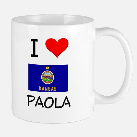 I Love PAOLA Kansas Mugs