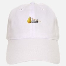 Chicks With Sticks Baseball Baseball Cap