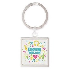 Drum Major Square Keychain