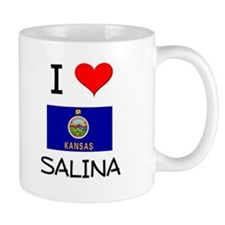 I Love SALINA Kansas Mugs