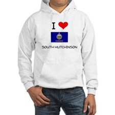 I Love SOUTH HUTCHINSON Kansas Hoodie