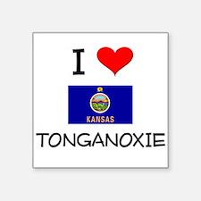 I Love TONGANOXIE Kansas Sticker