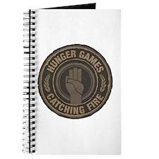 Hunger Games Catching Fire Hand Sign Journal