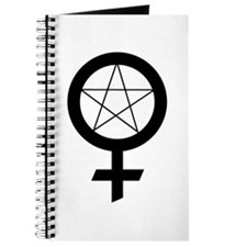Cute Witch woman pagan wicca wiccan Journal