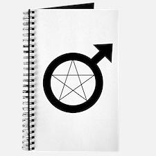 Cute Wiccan pentacle Journal