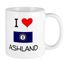 I Love ASHLAND Kentucky Mugs