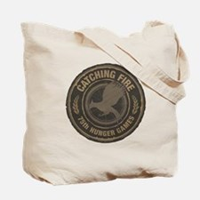 Catching Fire 75th Hunger Games Tote Bag