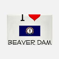 I Love BEAVER DAM Kentucky Magnets