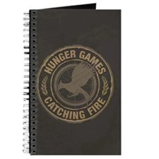 Catching Fire MockingJay Logo Journal