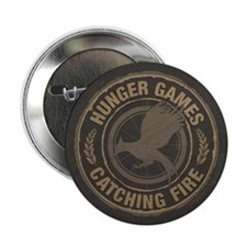 "Catching Fire MockingJay Logo 2.25"" Button (10 pac"