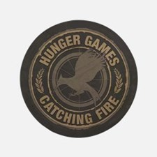 "Catching Fire MockingJay Logo 3.5"" Button"