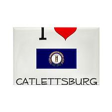 I Love CATLETTSBURG Kentucky Magnets