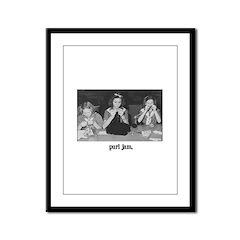 Knitting - Purl Jam Framed Panel Print